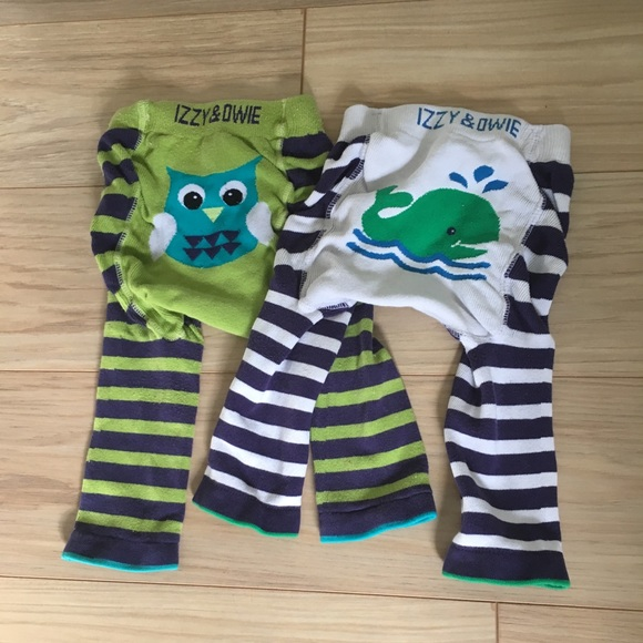 Izzy & Owie Other - Izzy & Owie [12M] Knit Pants- owl and whale
